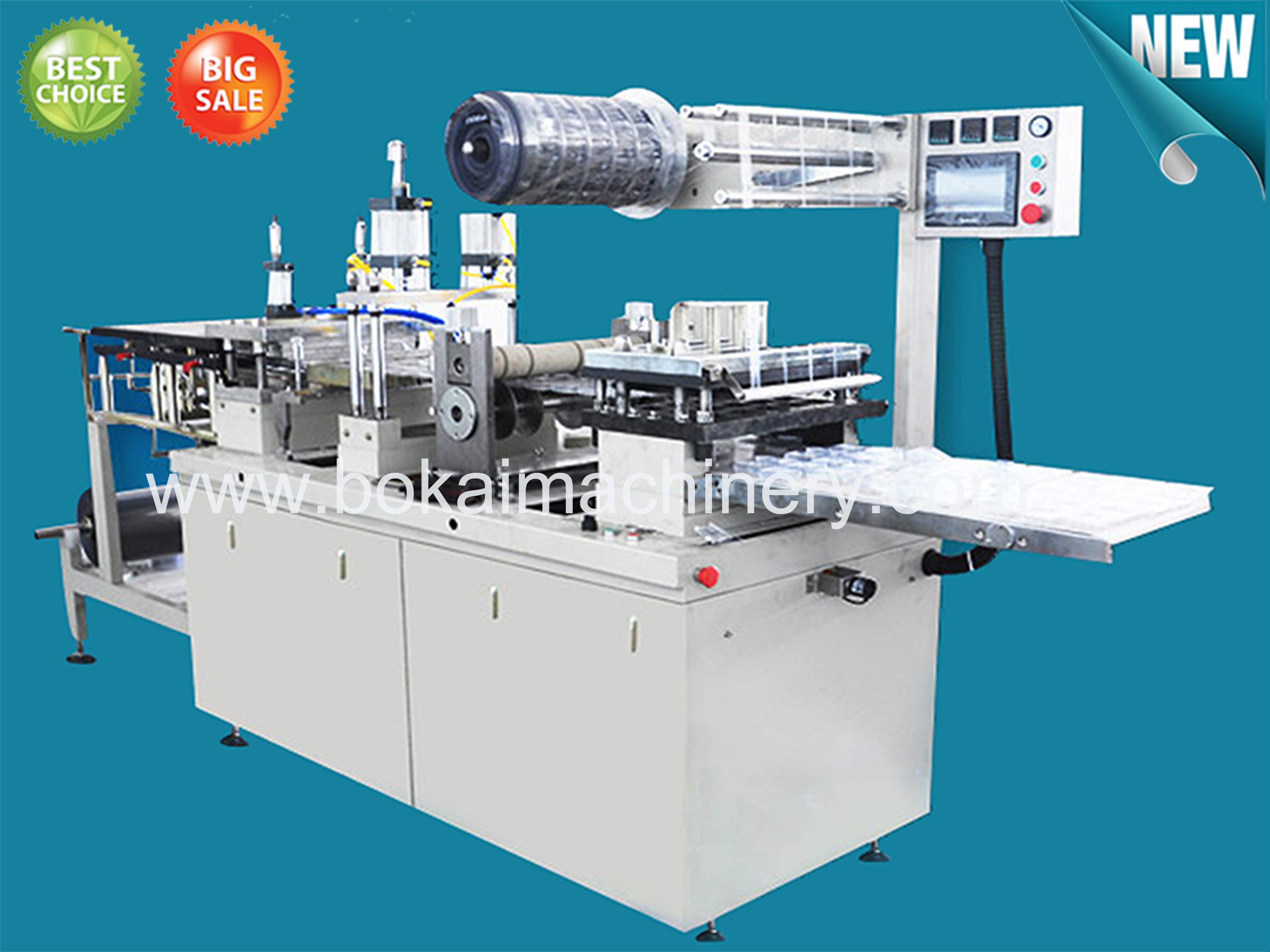 DP-420S Plastic Lid Thermoforming Machine